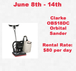 Rental Orbital Sander copy