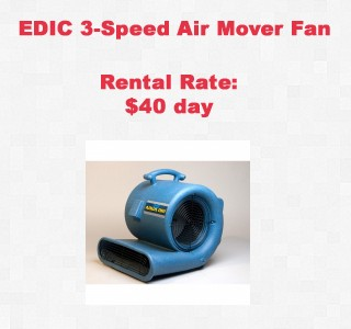 rental item air mover copy
