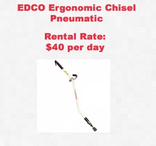 rental item chisel copy