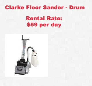 rental item floor sander copy