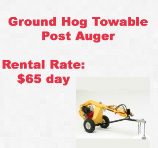 rental post auger copy
