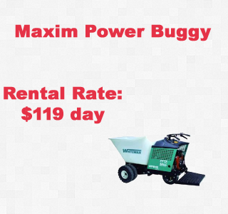 rental power buggy