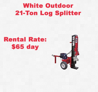 Rental Log splitter