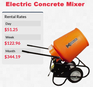 electric concrete mixer copy