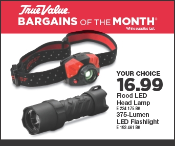 Dec17 BOM Digital Ad 5 - LED Headlamp or Flashlight